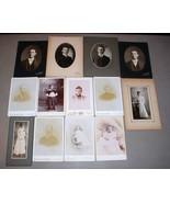 Stahl Family (13) Antique Cabinet Photos - Maine & Massachusetts - $227.50