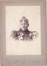 Cora Belle Robinson Cabinet Photo - Boston, MA (1896) - $17.50