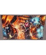 Avengers Iron Man & Cap vs Ultron Glossy Print ... - $24.99