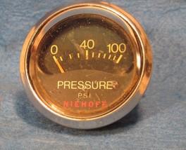 Niehoff Aftermarket 100 PSI Oil Pressure Gauge - $4.95