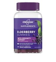 One A Day Elderberry Gummies w Immunity Support 60 Gummies - $24.76