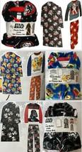 Disney Boy's Character 3-Piece Sleepwear Plush Robe & 2-Piece Fleece Paj... - $29.62
