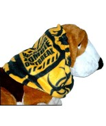 Zombie Outbreak Yellow Black Fleece Dog Snood Basset Hound Springer Afgh... - $14.00
