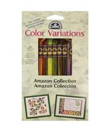 Amazon Collection DMC22 Color Vatiations Floss Pack 8 colors 100% cotton... - $9.00