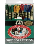 DMC Holiday Decor Floss Gift Collection 30 skeins 100% cotton DMC - $21.15