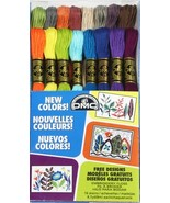 DMC 2013 New Colors 16 skeins 100% cotton embroidery floss DMC - $12.00