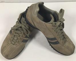 SKECHERS Casual Sneakers Bicycle Toe Shoes Mens 10 Brown Suede Euro 43 U... - £13.49 GBP