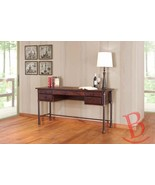 Rustic Albert Writing Desk Real High Quality Wood Western Style Lodge Cabin - $678.15
