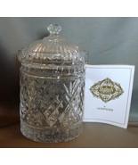 Shannon Godinger Dublin Collection 6 Inch  Crystal Jar - $11.99