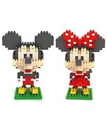 Mickey and Minnie - LOZ Nanoblock Disney Mickey... - $9.95