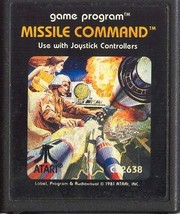 Missile Command Atari 2600 Video Game Cartridge [video game] - $6.99
