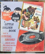 The Three Bears a Little Golden Book and a Special Record Which Tells th... - £4.31 GBP