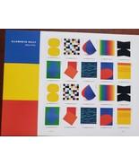 Ellsworth Kelly 1923-2015Multi Stamp Designs - 2019 USPS 20 Forever Stamps Sheet - $14.95