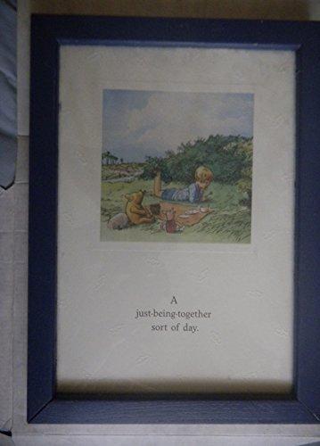Classic Winnie the Pooh Framed Art - Pooh Disney Sayings