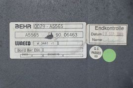 BMW E66 760Li Rear Seat Roof Ac Blower W/ Console Refrigerator Fridge Box Cooler image 7