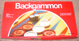 BACKGAMMON GAME 1979 PRESSMAN COMPLETE EXCELLENT - $10.00