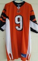 Reebok Sewn Carson Palmer Jersey Bengals #9 NFL 50 On Field Orange NICE! - $27.11