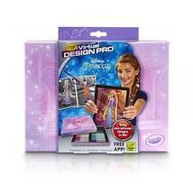 New Crayola Color Alive Virtual Design Pro Portfolio Princess Craft Kit ... - $14.99