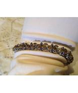 Nemesis Vintage Citrine Sapphire 92.5% Sterling Silver Tennis  Bracelet - $112.20