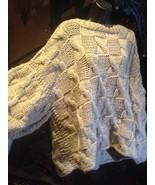 Hand Knit 1980's Kimono Sleeved Wool Sweater - $153.93