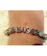Nemesis Vintage Moonstone / Sapphire 92.5% Sterling Silver Tennis  Bracelet - $112.20