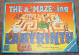 AMAZEING LABYRINTH GAME 2002 TILE MAZE UNUSED RAVENSBURGER DISCOVERY TOY... - $25.00