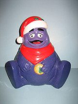 McDonald 1997 Purple Grimace w/ Santa Hat Mint in Box - $30.00
