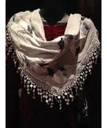 Nemesis Vintage Victorian Style Antique Pale Grey Lace Embroidered Summe... - $14.03
