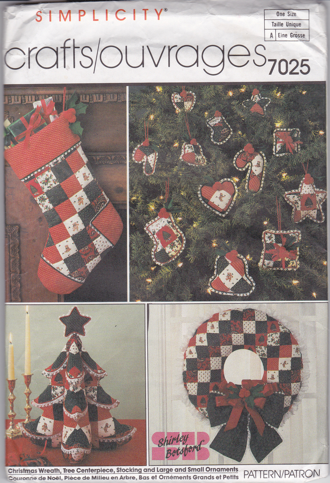 Simplicity crafts pattern 7025 christmas wreath tree for Promo code for consumer crafts