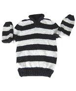 Alpakaandmore Boy Turtleneck Sweater Alpaca Wool 2 - 4 Years Stripes (2 ... - $47.52