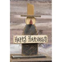Happy Harvest Scarecrow On Base - $43.41