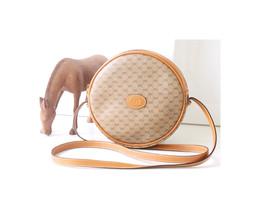 rare GUCCI Round GG Web Shoulder Crossbody handbag Authentic - $560.00