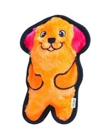 Invincibles Minis Stuffingless Durable Tough Plush Dog Squeaky Toy By O... - £13.07 GBP