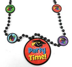 "Party Time! Mortarboard Graduation Mardi Gras Bead Necklace ""Grad"" Beads - $2.35 CAD"