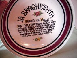 """VILLA WARE STONEWARE SPAGHETTI SERVING BOWL 12.5""""/ MADE IN ITALY - $17.82"""