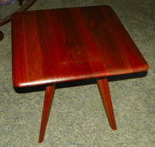 Solid Walnut Mid Century End Table / Side Table by Bissman - $299.00