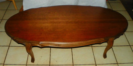 Oval Cherry Coffee Table  (CT82) - $499.00