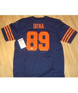 RARE CHICAGO BEARS Throwback Signed MIKE DITKA Jersey COA - $197.99