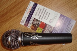 """CHEAP TRICK SIGNED AUTO MICROPHONE RICK NIELSEN JSA COA """"I WANT YOU TO W... - $158.39"""