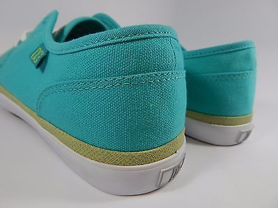 DC Studio LTZ Low Top Textile Women's Skate Shoes Size US 11 M (B) EU 43 Aqua