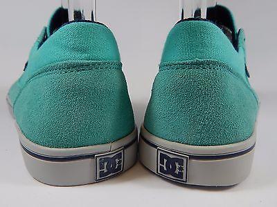 DC Tonik Low Top Leather Women's Skate Shoes Size US 11 M (B) EU 43 Aqua Green