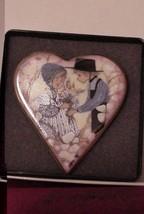APPLE BLOSSOM LOVE BY P BUCKLEY MOSS SOCIETY 1998 PIN BROOCH PENDANT #18620 - $39.95