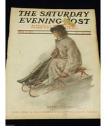 VTG Rge Saturday Evening Post Magazine March 4 1911 Illustrated - $44.55