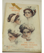 VTG The Ladies Hime Journal Magazine MArch 15 1911 Illustrated Advertisment - $94.05