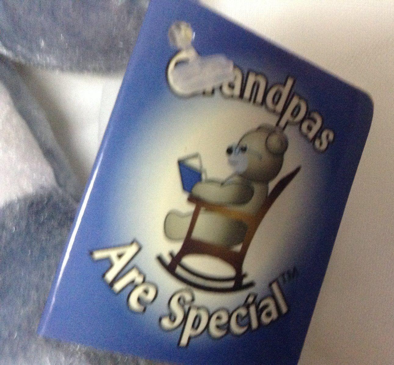 Original Holy Teddy Bears Grandpas Are Special Beanie Plush NWT
