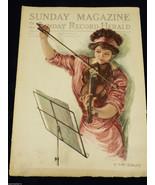 VTG Sunday Magazine of Sunday Record-Herald January 22 1911 Earl Christy... - $44.55