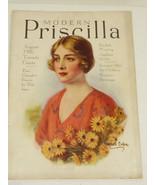 VTG Modern Prescilla Magazine August 1926 Illustrated Advertisment - $39.60
