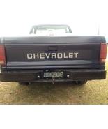 Chevy S10 Tailgate Replacement Letters for Chevrolet 82 - 91 + choice of color - $14.95