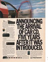 1990 Pioneeer Audio Advertisement - $15.00