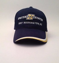 United States Navy WNY Washington DC Blue Cap Hat One Size Military - $29.02